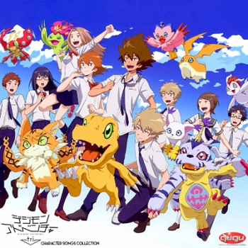 Digimon Adventure tri Character Songs